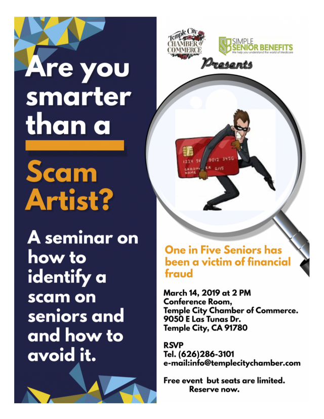 Are you smarter than a Scam Artist